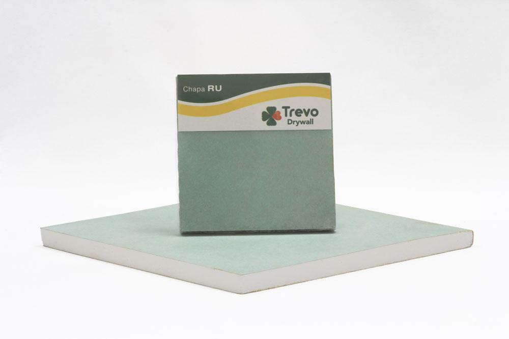 Drywall Trevo RU BR 12,5 1200X1800 mm